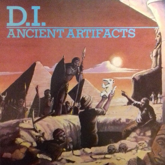 "Image of D.I. - ""Ancient Artifacts"" LP (BLUE VINYL)"
