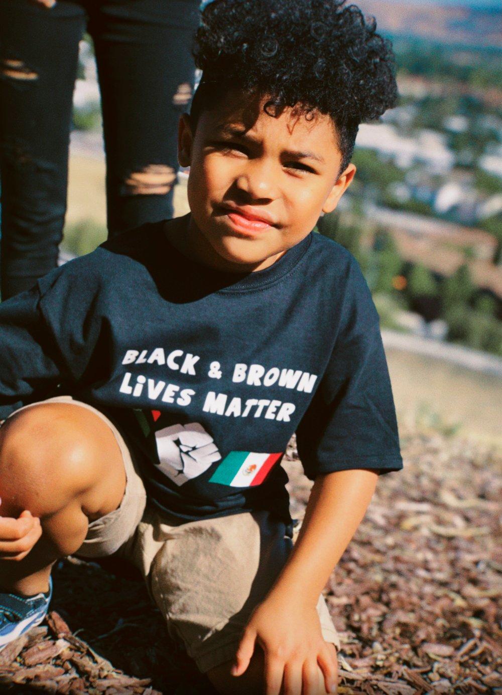 Black & Brown Lives Matter t-Shirt