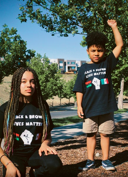 Image of Black & Brown Lives Matter t-Shirt