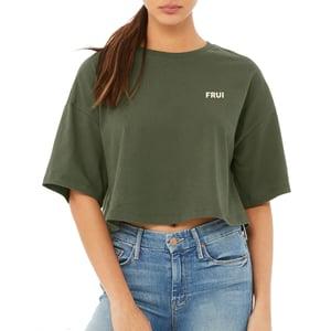 Women FRUI Logo Crop Tee