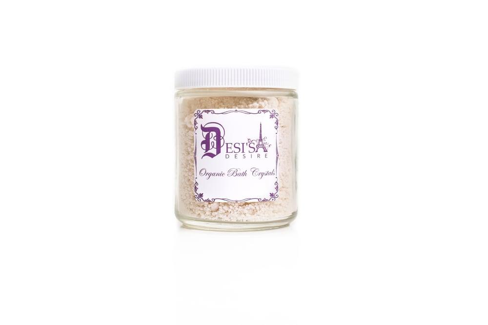 Image of Desi's Desire Organic Bath Crystals