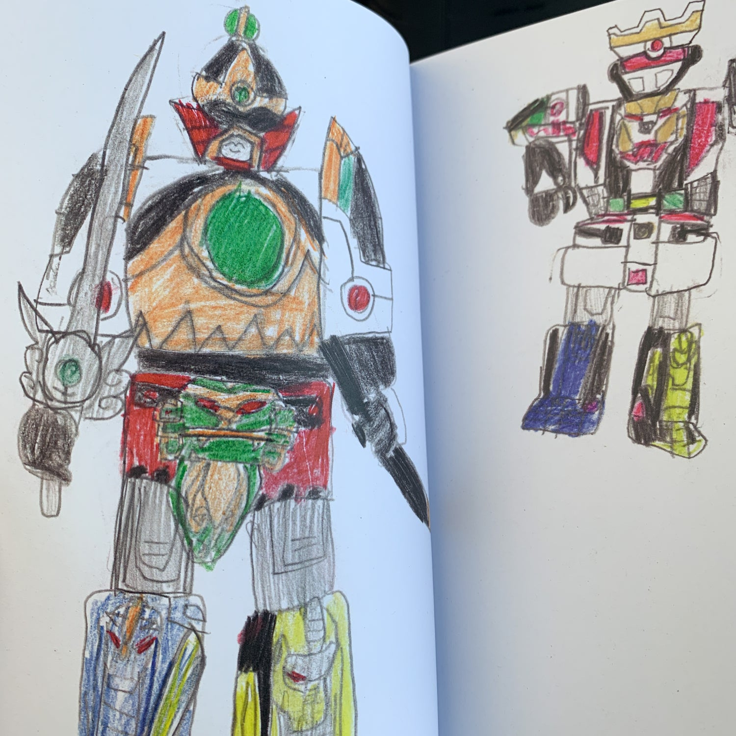 Image of 120 Power Ranger Drawings - Jason Galea
