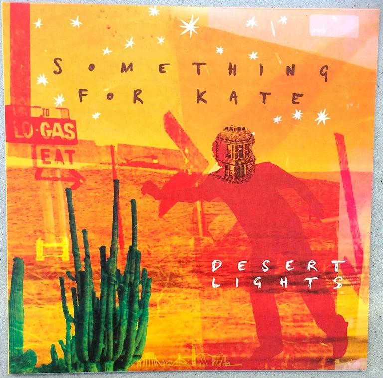 Image of Something for Kate 'Desert Lights' LP vinyl reissue
