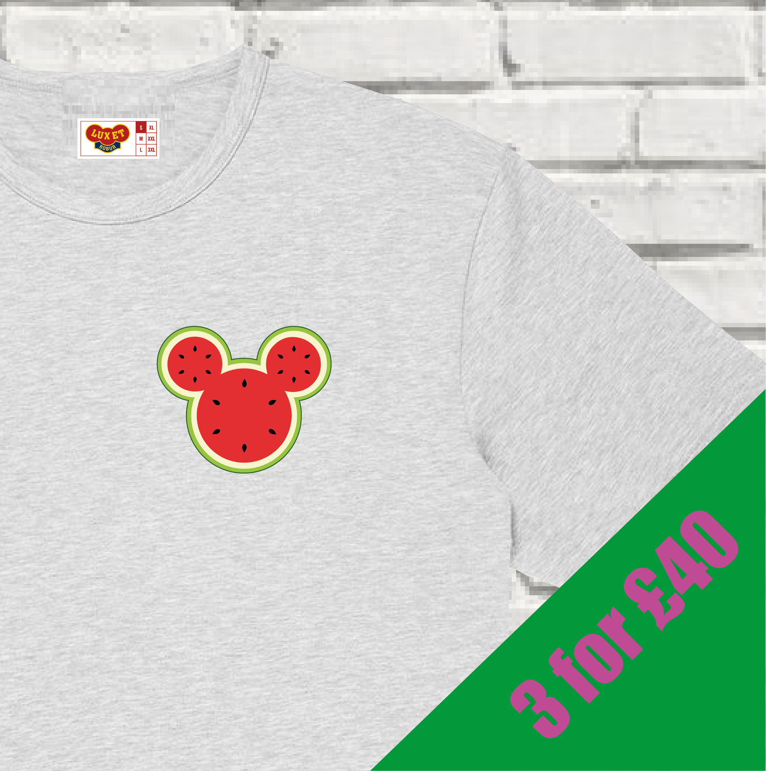Image of Micky's melons /// Tee