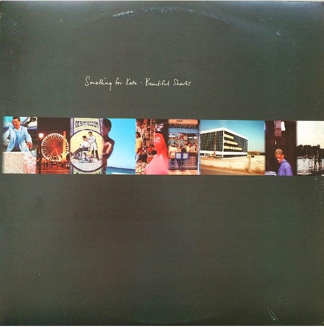 Image of Something for Kate 'Beautiful Sharks' LP vinyl reissue
