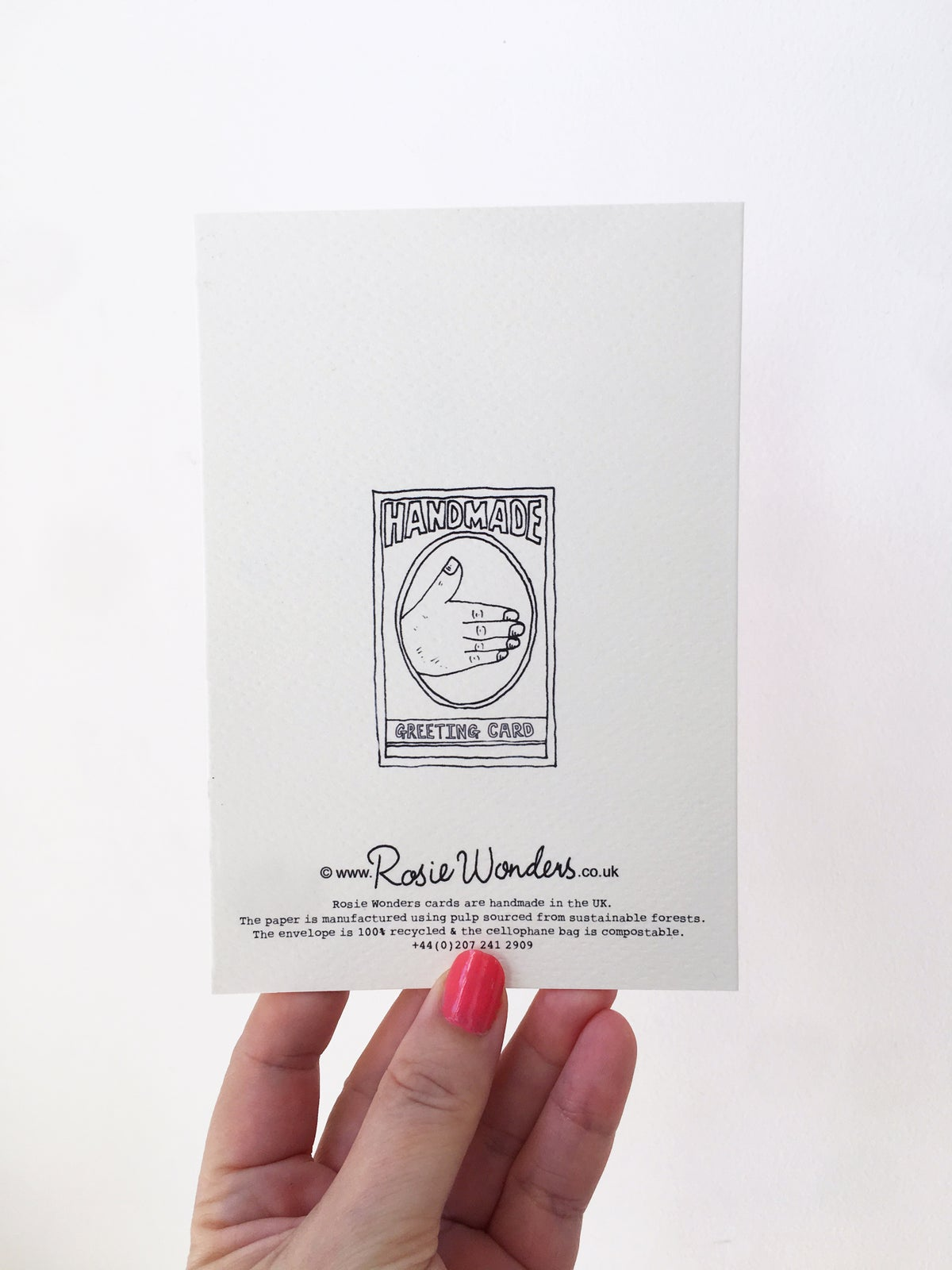 A Journey of a Thousand Miles Begins with a Single Step Fortunes Card