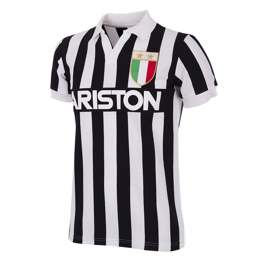 Image of JUVE RETRO FOOTBALL TOP