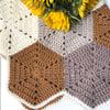 Heirloom Hexagon Baby Blanket