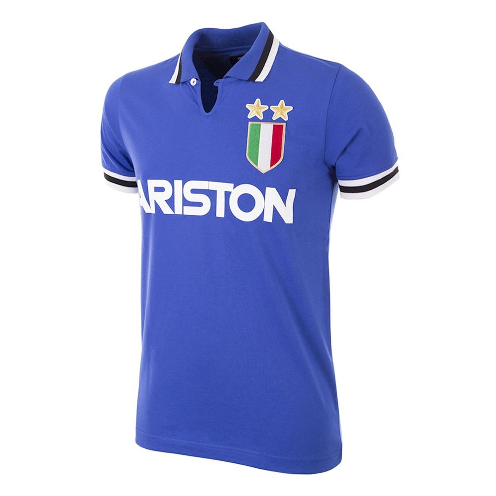 Image of JUVENTUS RETRO FOOTBALL TOP - AWAY