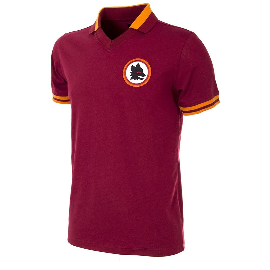 Image of AS ROMA RETRO FOOTBALL TOP