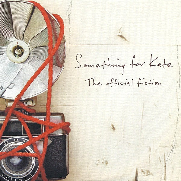 Image of Something for Kate 'The Official Fiction' LP vinyl reissue