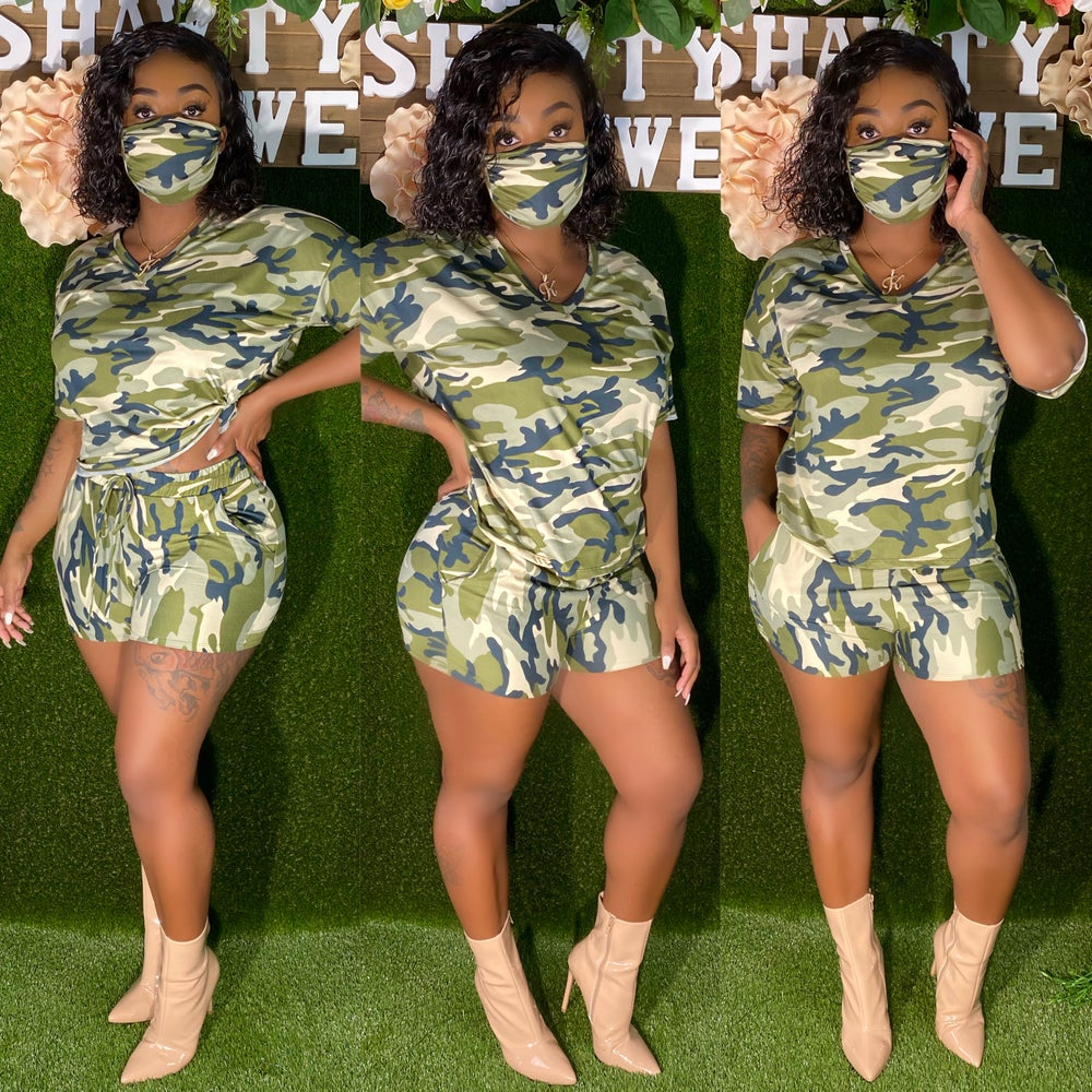 Image of 3 piece camo set