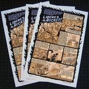 "Image of Rocket Richard ""Liberez le Rocket"" Print"