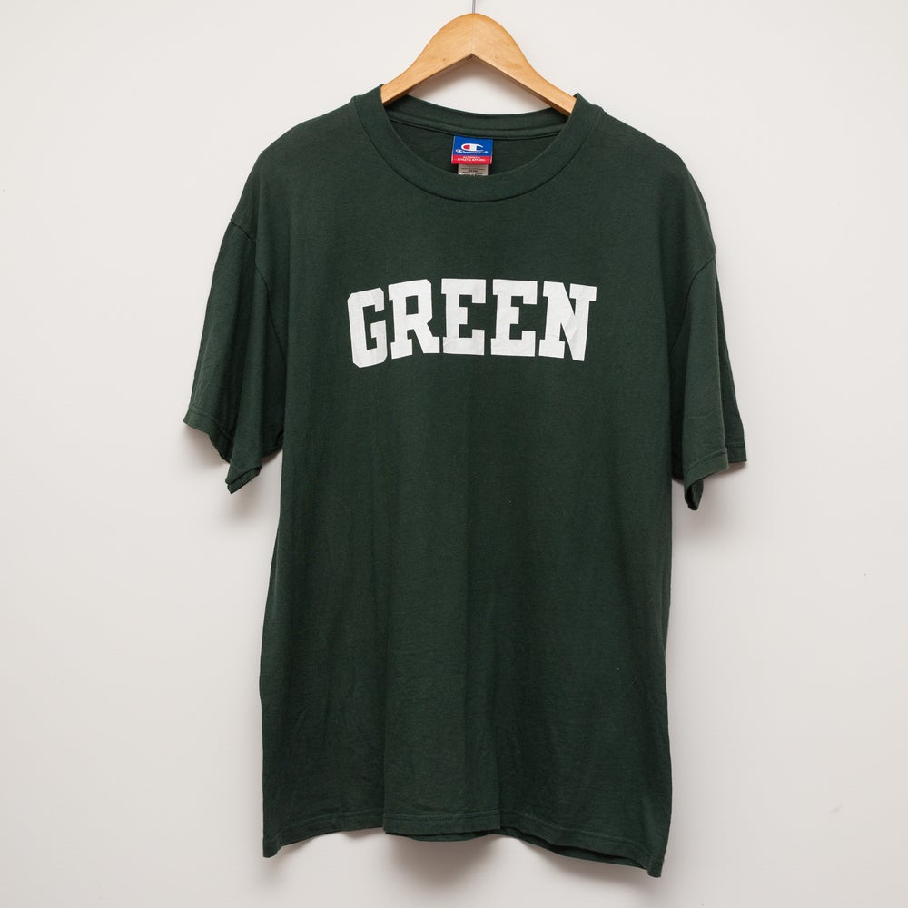 Image of Champion Green Tee Size L