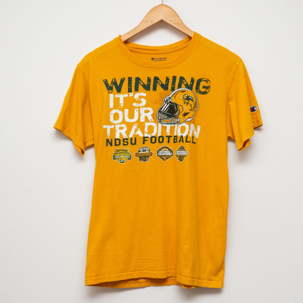 Image of Champion Football Tee Size S
