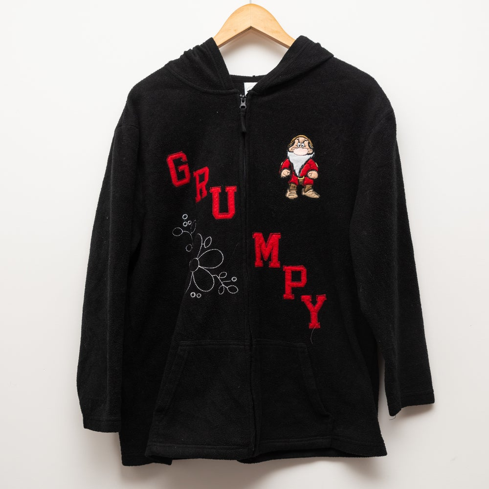 Image of Disney Fleece Grumpy Black