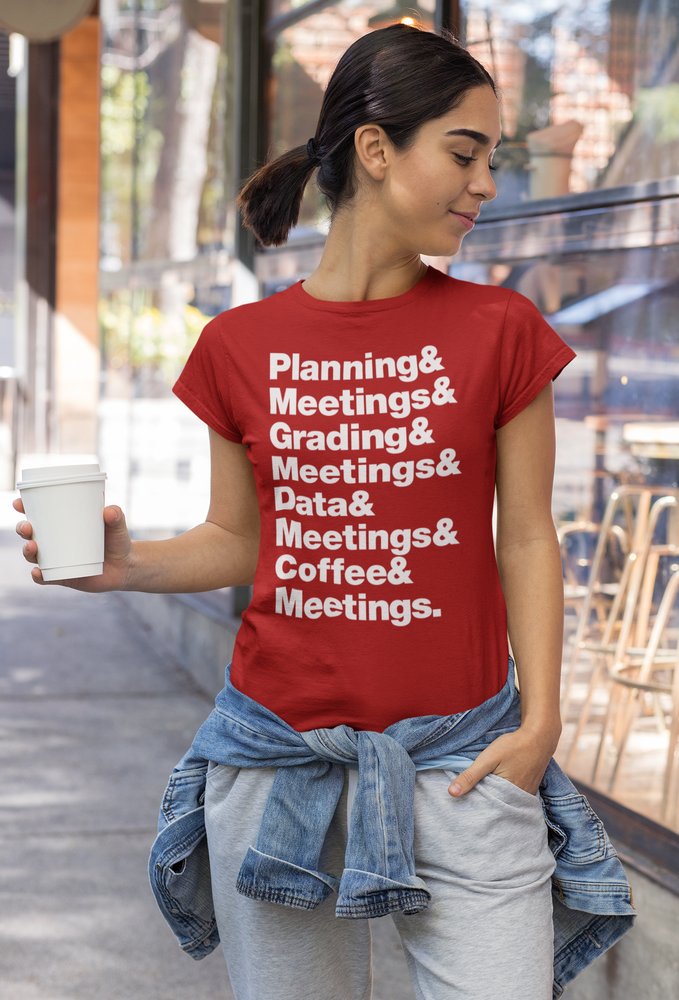Image of And Meetings Graphic Tee