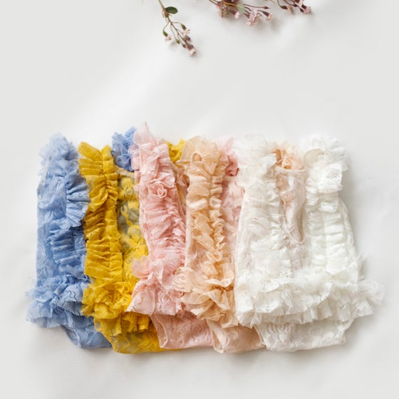Image of Tea Rose Ruffle Set
