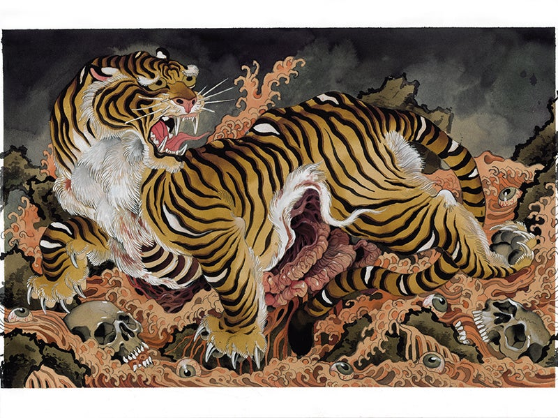 Image of Flayed Tiger