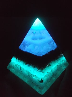 Image of DayGlow Orgonite Pyramid