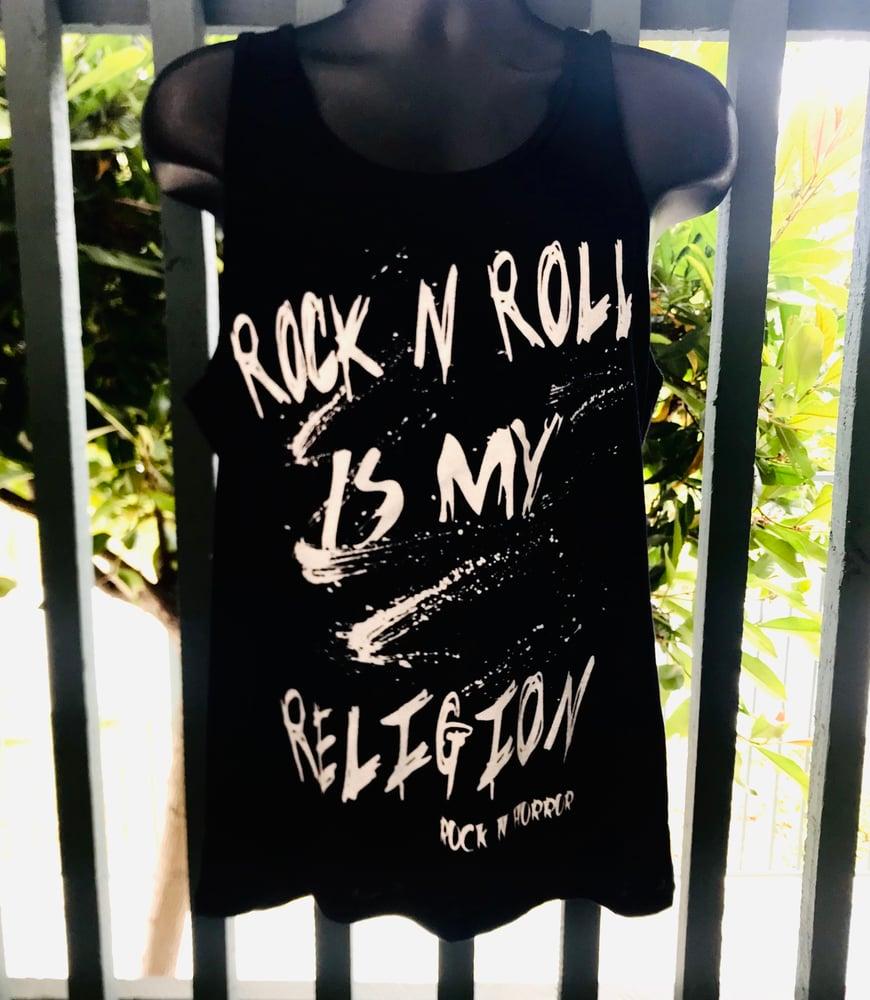 Image of Rock N Roll Is My Religion Unisex Tank
