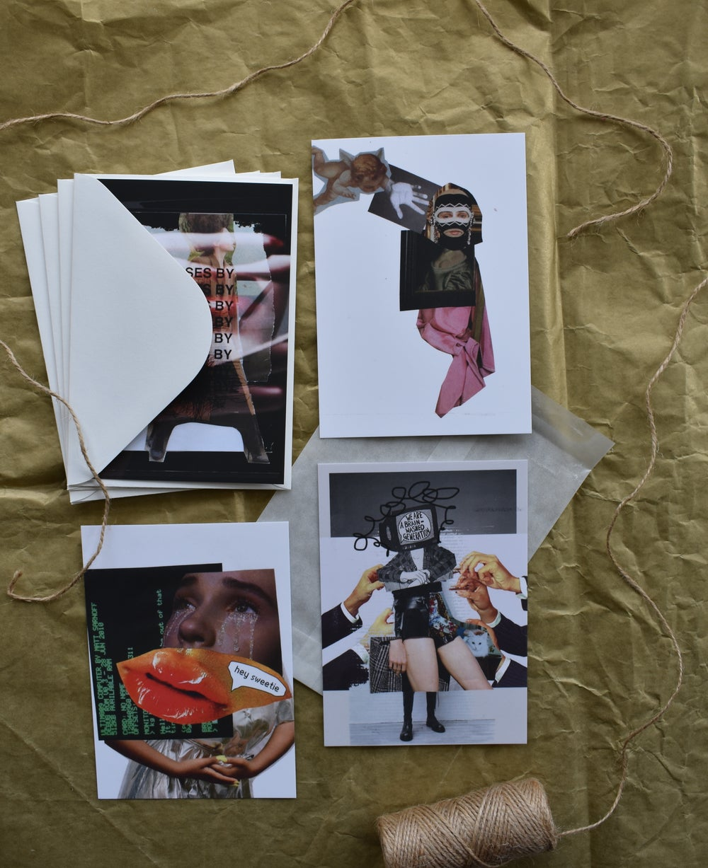 Image of Postcards pack #2