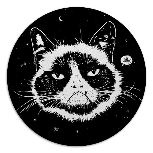 Image of ANGRY CAT - Slipmat For Turntable
