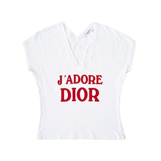 Image of Dior J'adore T shirt Tank Top