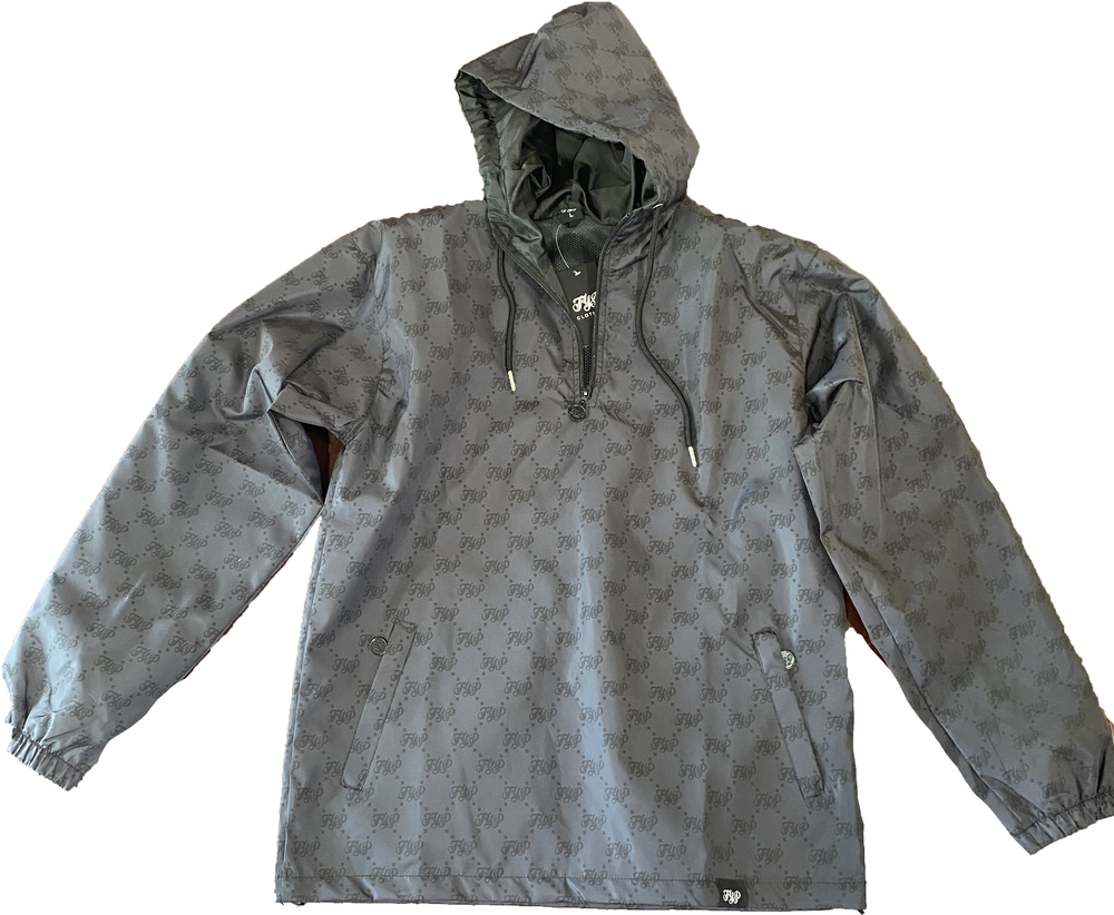 Image of All Over Pull Over Jacket