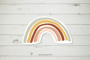 Image of Pack imprimible arco iris boho