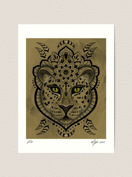 Image of 'Leopard Queen' Limited Edition Print