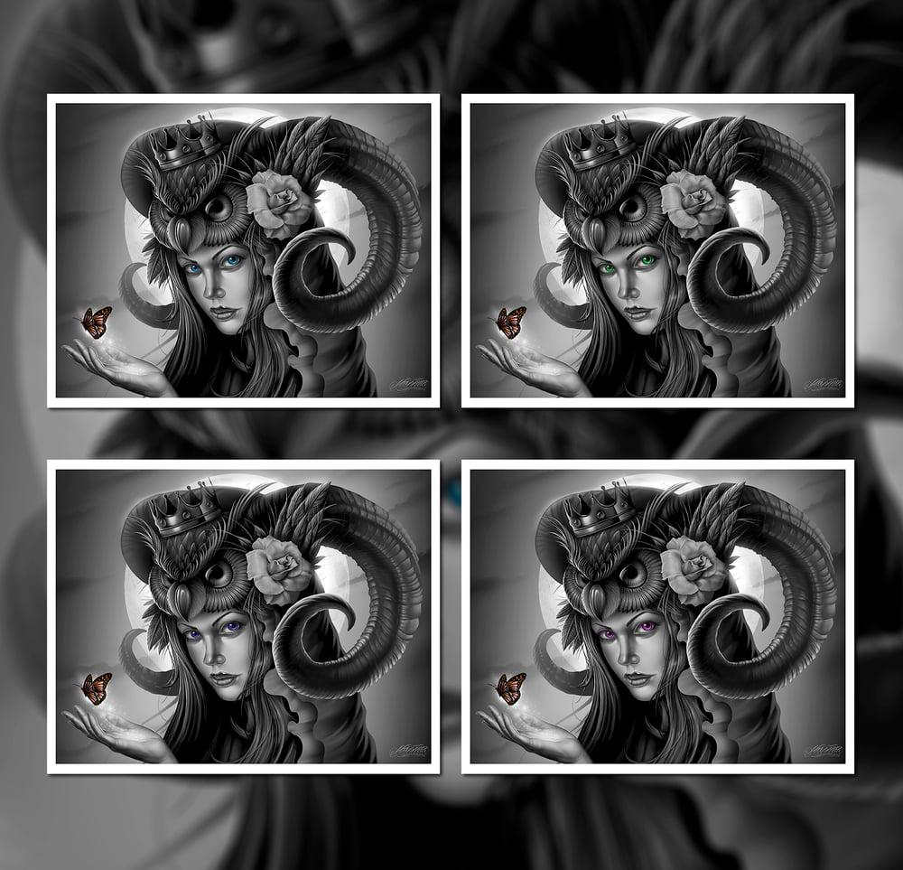 Image of Owl Queen Fine Art Giclee Prints