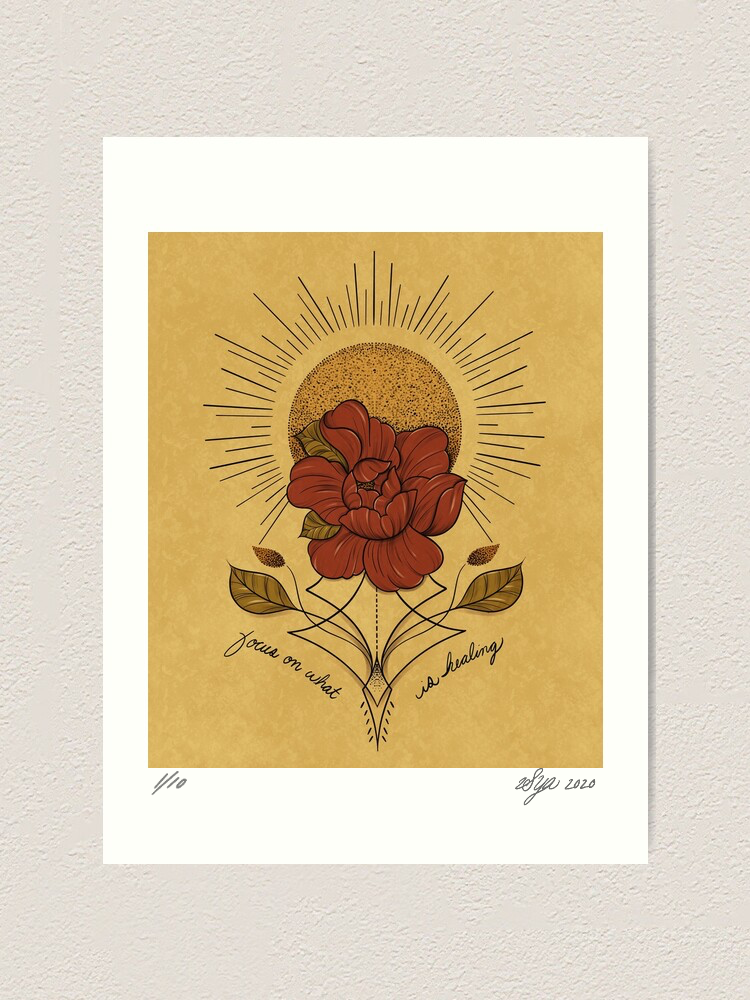 Image of 'Healing' Limited Edition Print