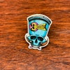 3S 1-Shot Skull 80's Photodome Pin