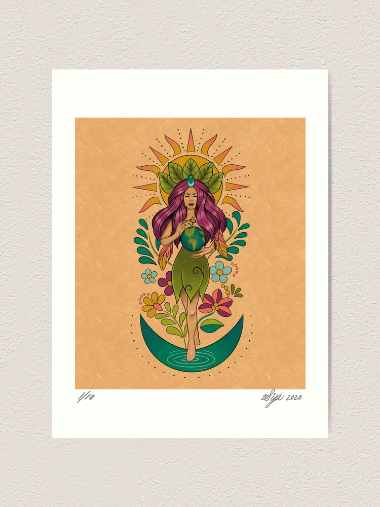 Image of 'Gaia' Limited Edition Print
