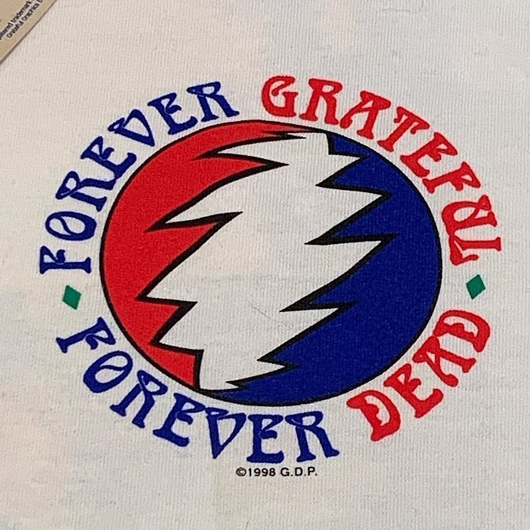 SMALL Original Vintage Grateful Dead 90's Forever Playin Tee