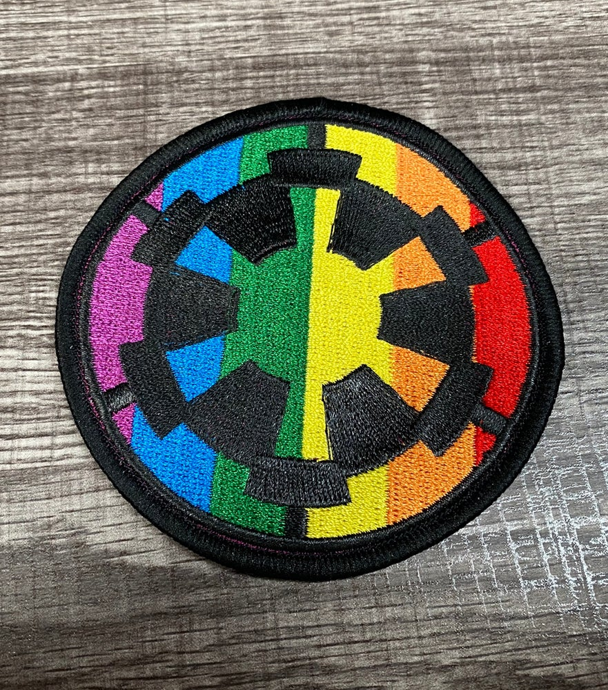 "Image of Imperial Cog Pride 3.5"" Patch"