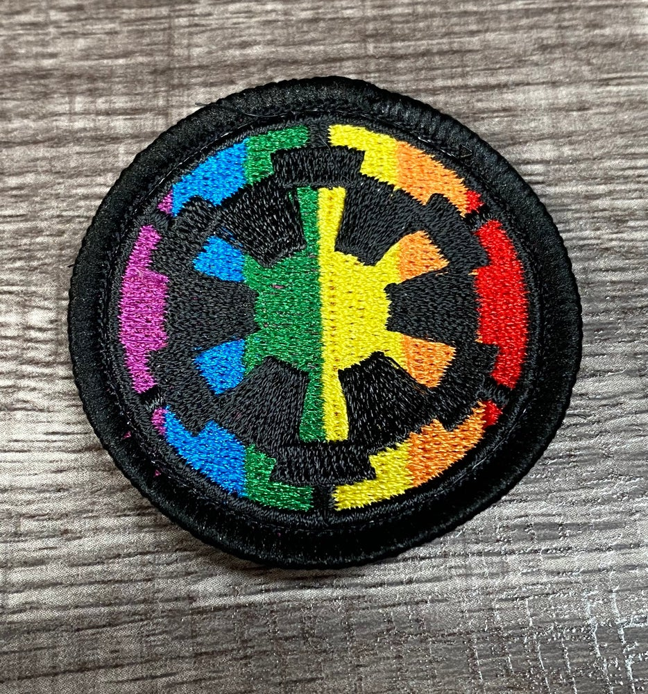 """Image of Imperial Cog Pride 2"""" Patch"""