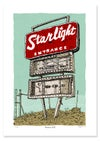 Canberra Starlight Drive-in Limited Edition Digital Print