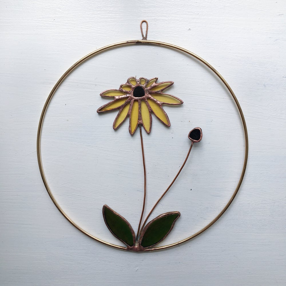 Image of Black Eyed Susan Wreath no.1
