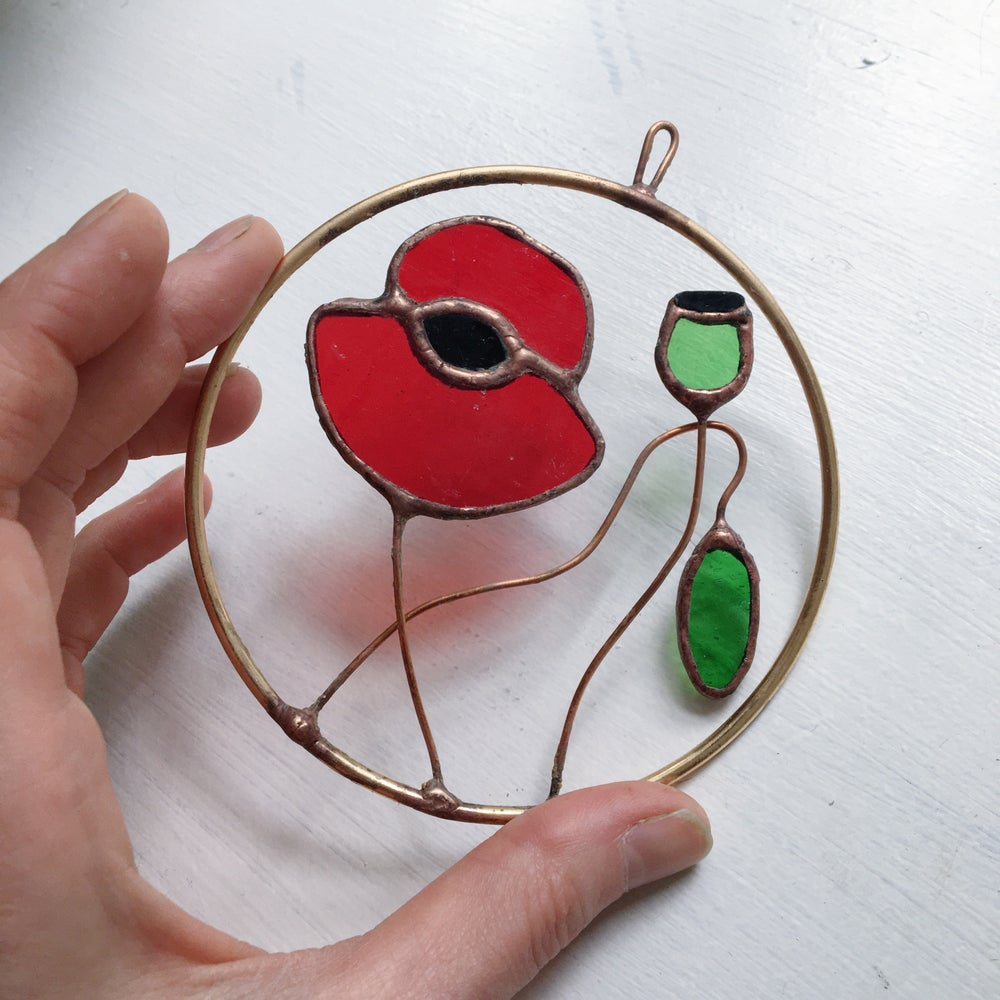 Image of Poppy Cameo no.2