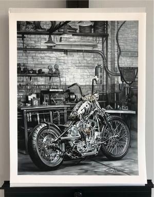 "Image of ""Solitude"" and ""American Original""  giclée prints/set"