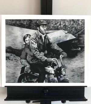 "Image of ""Monkeying Around""  16"" x  20"" giclée print"