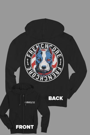 Image of Complete Frenchcore Staff Zip Hoodie