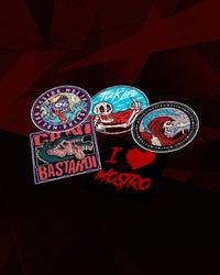 MOSTRO - STICKERZ PACK - HONIRO STORE