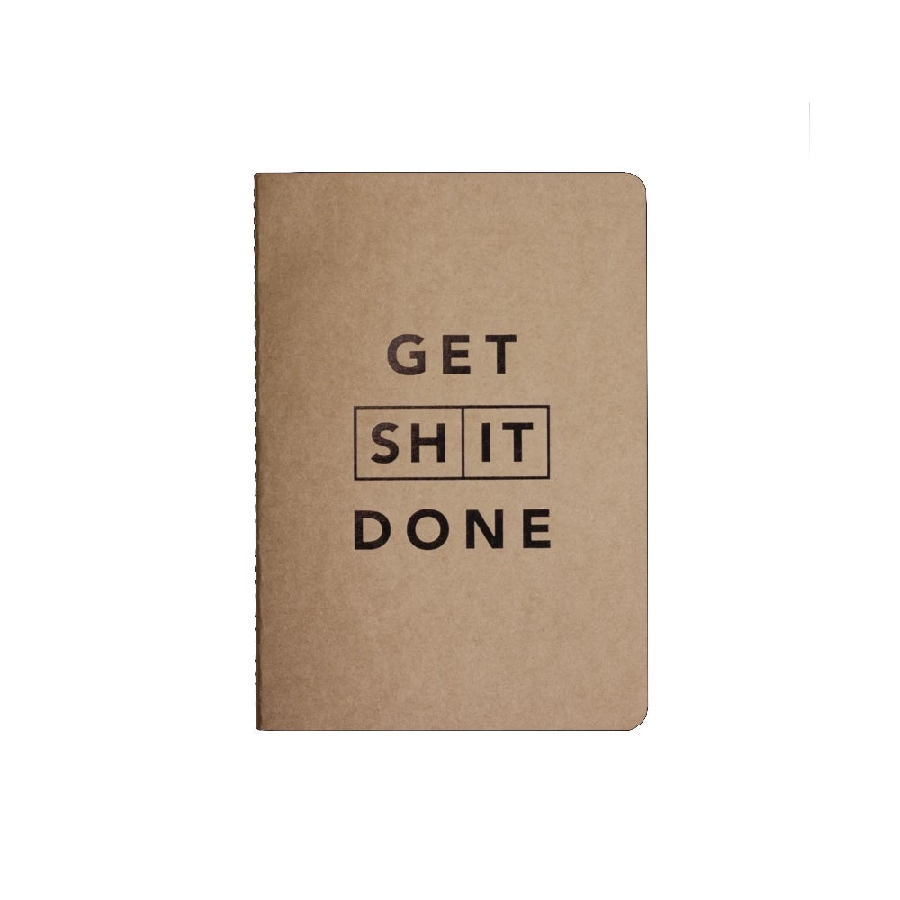 Image of Get Shit Done Notebook- Classic A5
