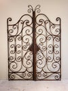 A Pair of Iron Garden Gates