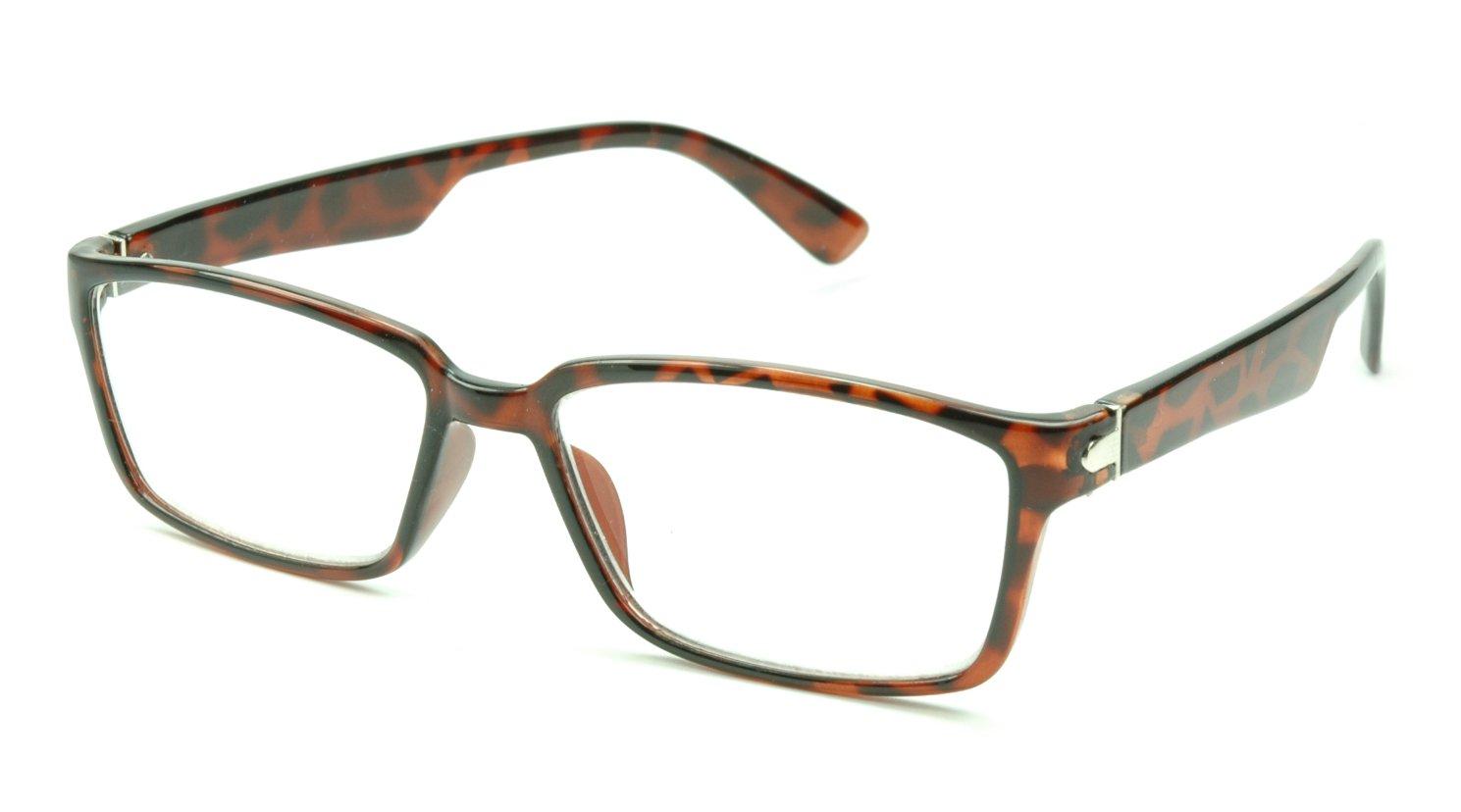 Image of Visa Reading Glasses (#111210) Tortoise Brown