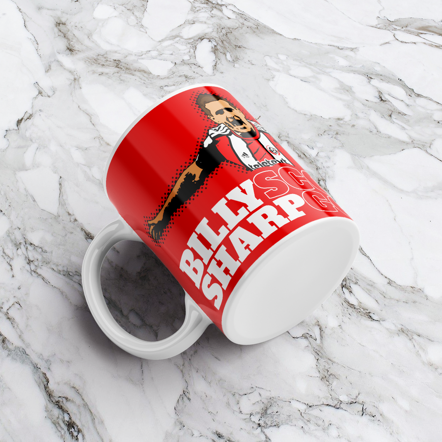 Image of Billy Sharp Scores Goals Mug