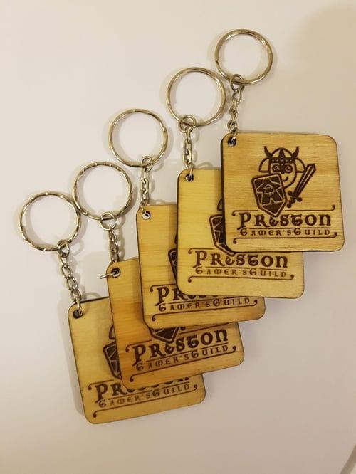 Image of Custom Wooden Key-rings